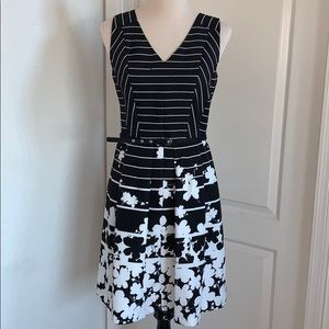 Black and White Women's Dress by Julian Taylor